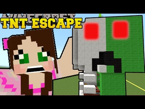 Minecraft: CREEPER ANATOMY - TNT ESCAPE - Custom Map [1]