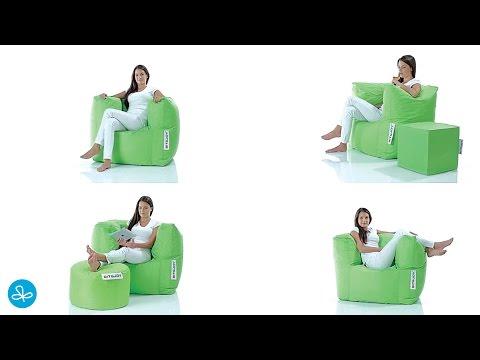 Sit En Joy Lounge Zitzak.Sit Joy Lounge Chair Zitzak Youtube