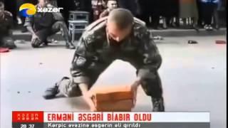 Erməni Xüsusi Təyinatlı əsgəri biabır oldu