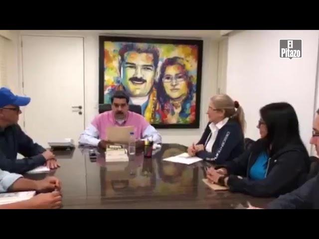 Maduro agradece a Noruega por esfuerzos para diálogo con la oposición