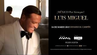 Luis Miguel llega con su gira mundial a Colombia