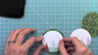 Intro to Winter Owl + an ornament from start to finish { Lawn Fawn }