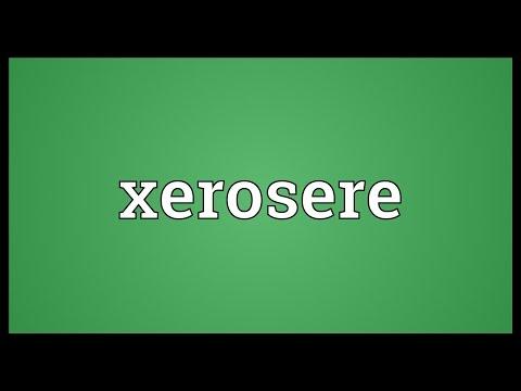 Header of xerosere