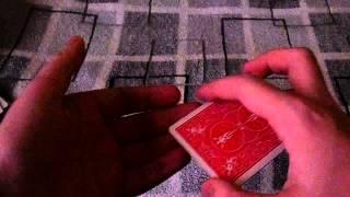 Двойной подъем - Кручение - Карточные техники - Обучение