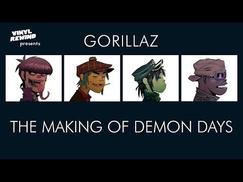 The Making of Demon Days by The Gorillaz | Vinyl Rewind