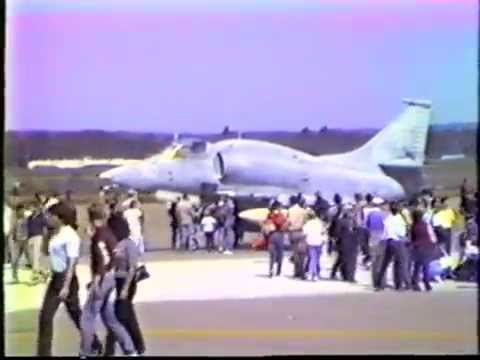 Air Show at Griffiss Air Force Base with the Thunderbirds - 1984