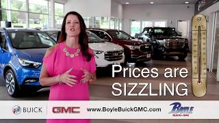 Boyle Buick GMC Sizzling Summer Sales Event