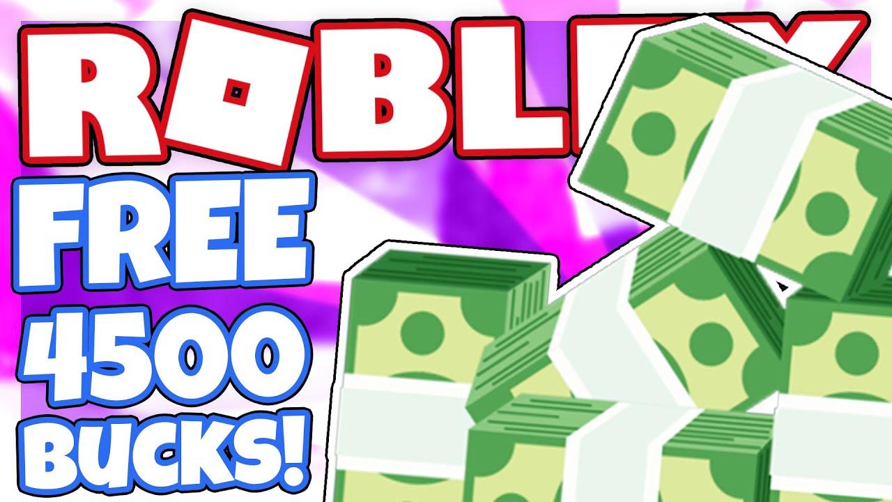 Code How To Get 4500 Free Bucks Roblox Island Royale Youtube