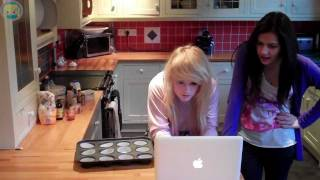 Chibi Cooking: With Abi + Olivia! | Red Velvet Cupcakes!
