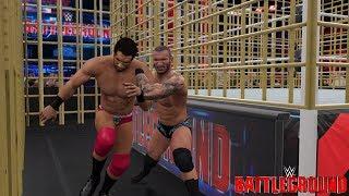 Randy Orton vs Jinder Mahal Punjabi Prison Match (WWE 2K17 Battleground 2017 WWE Championship)