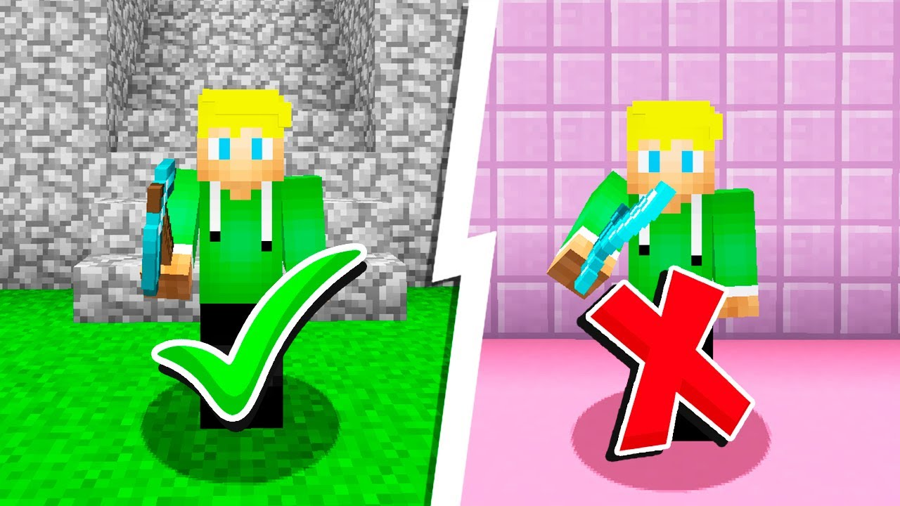 Minecraft, Men jeg må IKKE bruge SVÆRD?!