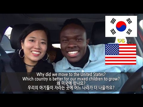 WHY WE CAME TO AMERICA |Which is better for Half Black, Korea or USA? & Exciting News! Vlog ep.86
