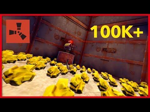Rust Raids: CASTLE TURNS UP LOADS OF SULFUR!!!