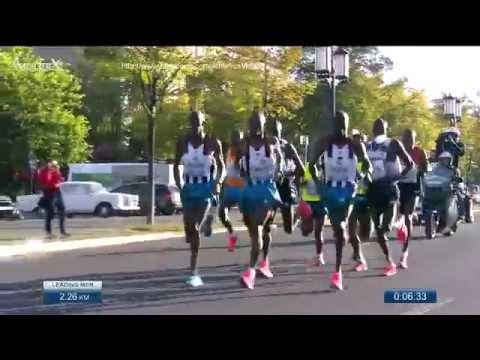 Dennis Kimetto Berlin marathon 2014, 2h02'57 new WR