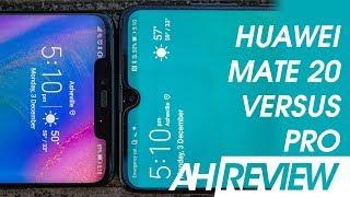 Huawei Mate 20 vs Mate 20 Pro Review