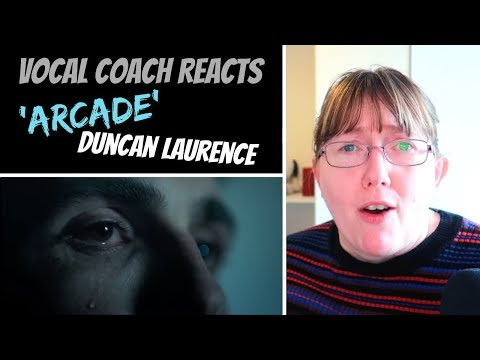 Vocal Coach Reacts to Duncan Laurence &39;Arcade&39; The Netherlands Eurovision 2019