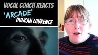 Vocal Coach Reacts to Duncan Laurence 'Arcade' The Netherlands Eurovision 2019