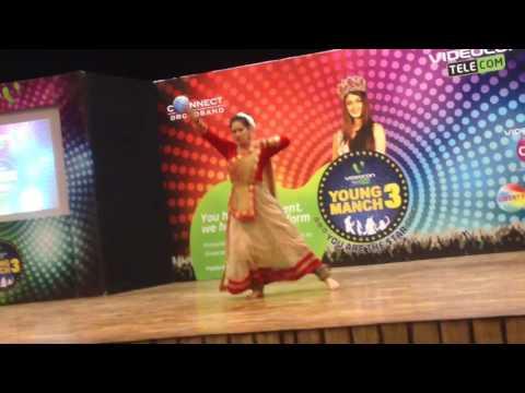 Hey ganaraya.kathak dance by p.kamakshi verma