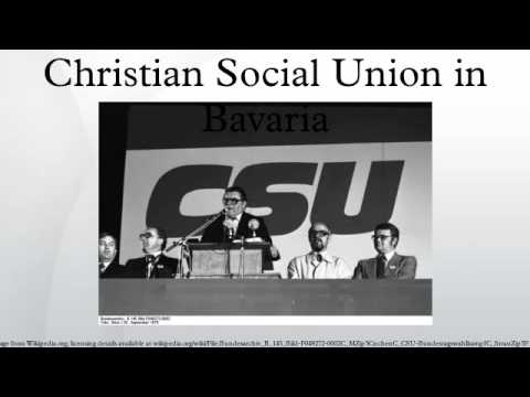Christian Social Union in Bavaria