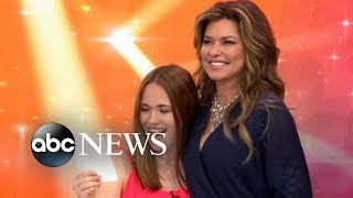 Shania Twain Surprises Her Biggest Fan