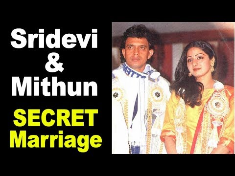 Story Behind Sridevi & Mithun Chakraborty's SECRET Marriage