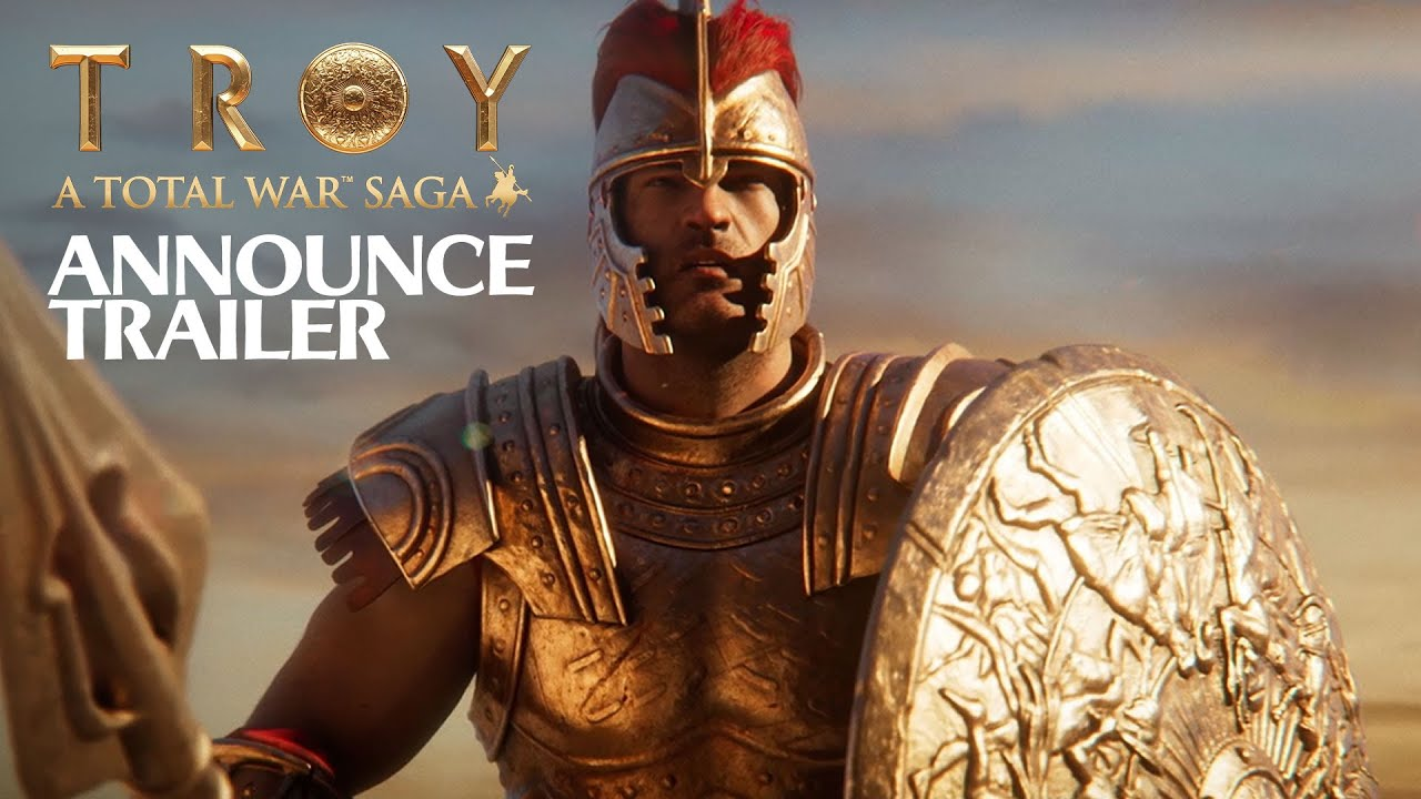 A Total War Saga Troy Announce Trailer Youtube
