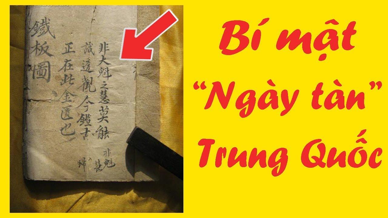 Cuốn sách tiết lộ bí mật ngày tàn của Trung Quốc