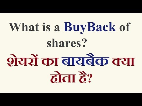 What is BuyBack of shares? in Hindi