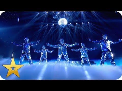 Mirror Family shine bright at Wembley Arena | BGT: The Champions
