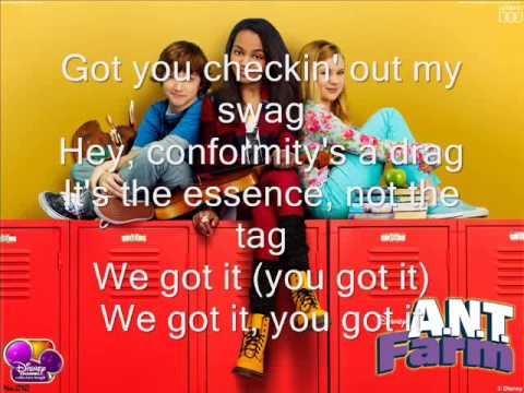 ANT Farm: Exceptional -theme song- (Lyrics)