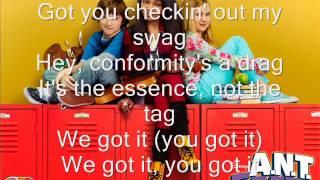 ANT Farm: Exceptional -theme song- (Lyrics)