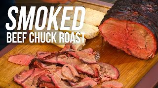 Roast Beef Chuck recipe by the BBQ Pit Boys