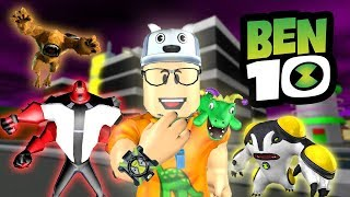 ROBLOX: THE OLD MAN TURNED INTO ALL BEN 10 ALIENS! -Play Old man