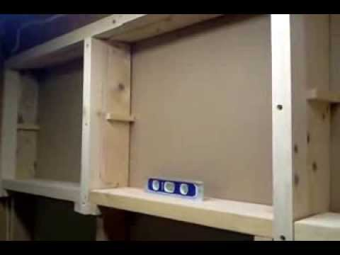 Between The Stud Cabinets Part 1 Youtube
