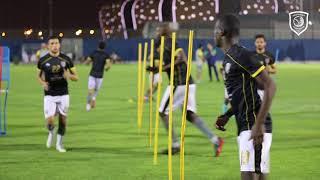 تدريبات الدحيل لمباراة نادي قطر ضمن الجولة الرابعة من الدوري