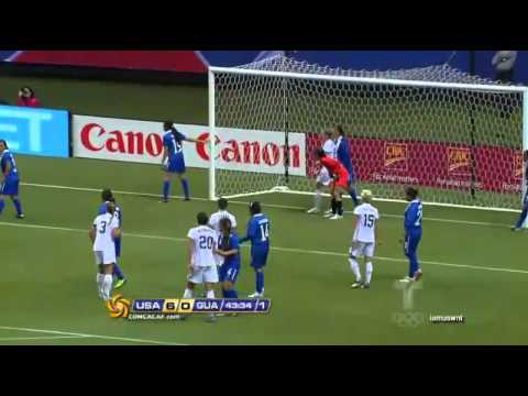 2012 Vancouver Olympics Qualifiers   USA vs Guatemala