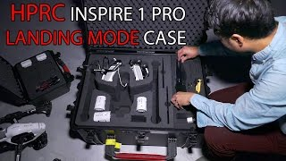 HPRC Inspire 1 PRO LANDING MODE Case IN DEPTH REVIEW!