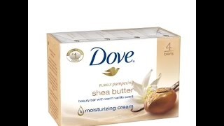 Dove Beauty Bar, White 4 oz, 14 bar