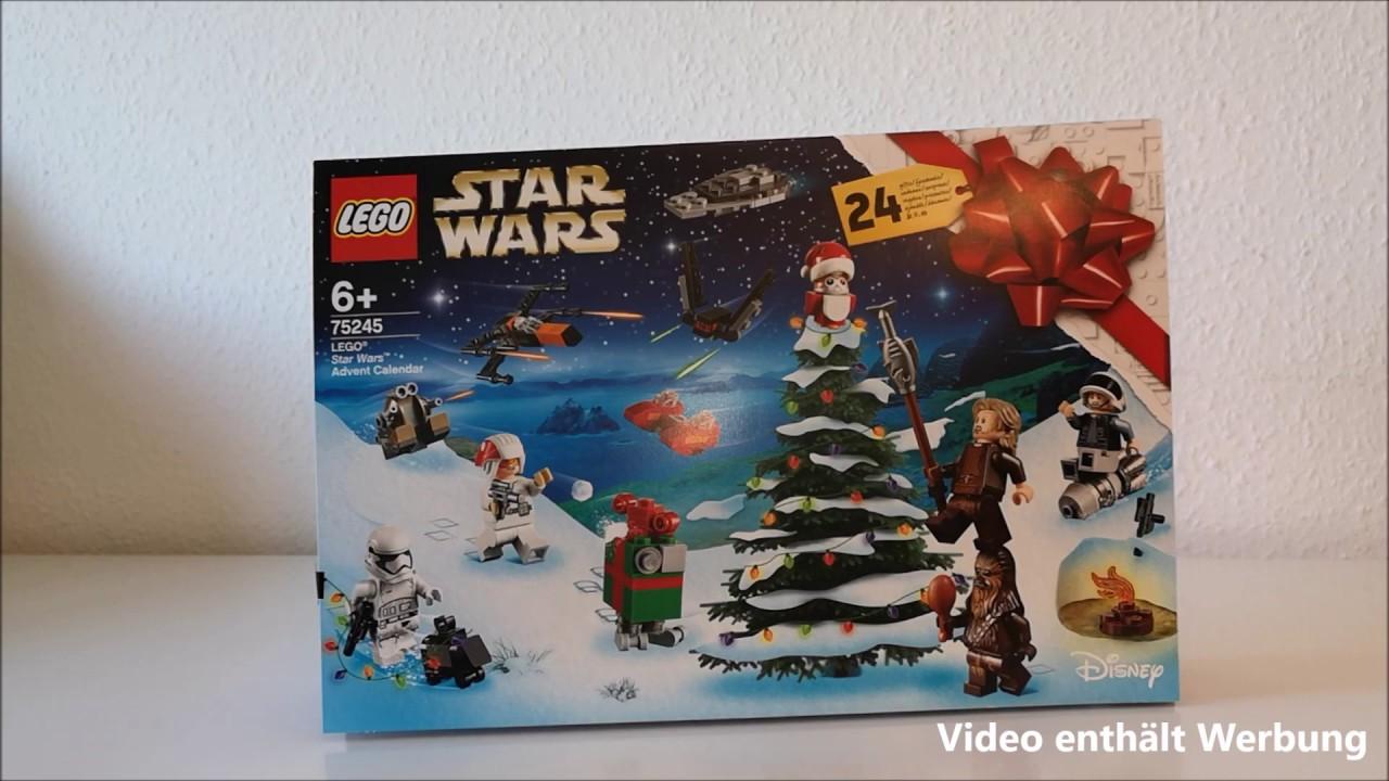 Lego Weihnachtskalender 2019.Lego Star Wars Adventskalender Fur 6 Jahrige 2019