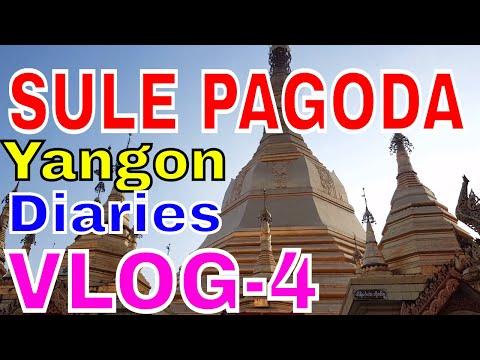Mayanmar/Burma travel,SULE PAGODA,VLOG-4, Yangon,Rangoon diaries,niladri nihar nanda,ODIA,BLOG,VLOG