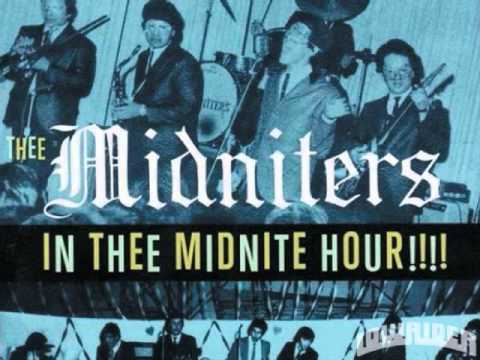 THEE MIDNITERS- COME BACK BABY