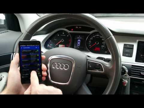 A6 electronic parking brake - brake pads replace EPB - Electronic parking brake