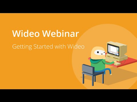 Wideo Webinar: Getting Started with Wideo
