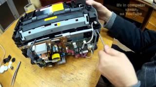 Jam the printer. We understand and fix. Заклинило принтер. Разбираем и исправляем.