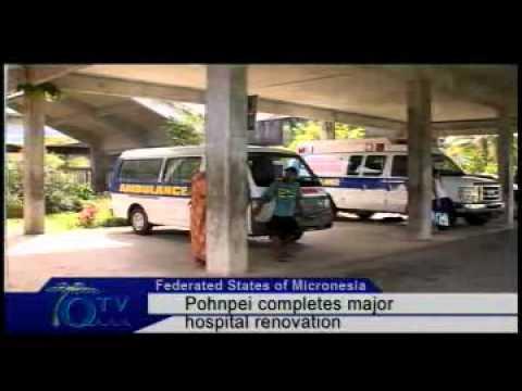 Pohnpei Completes Major Renovation Of Hospital