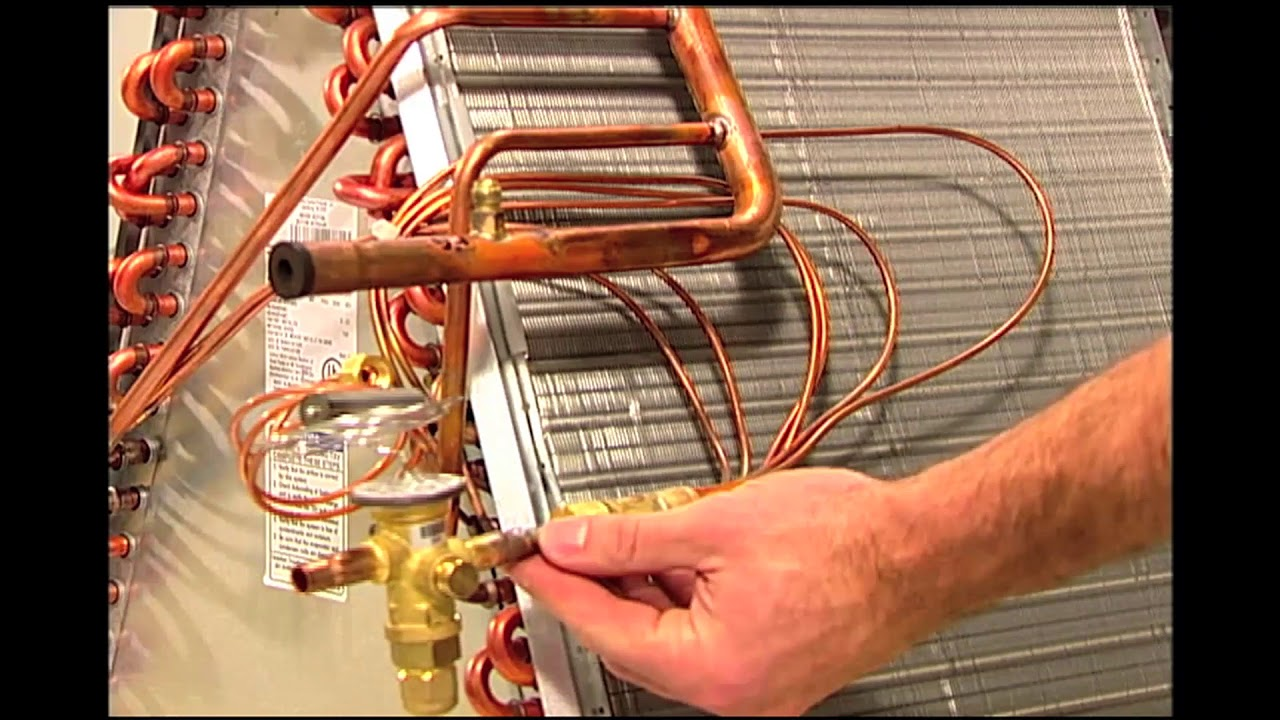 TR6 Thermostatic Expansion Valve Installations  YouTube