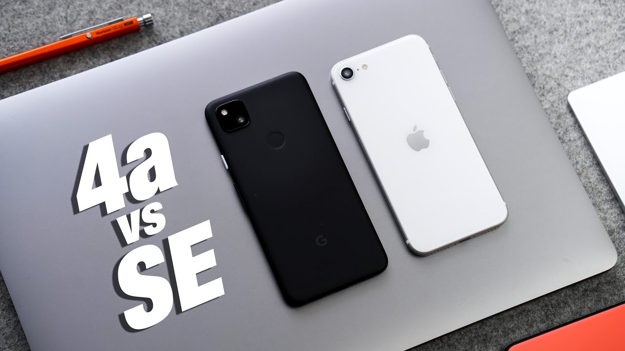 Pixel 4a VS iPhone SE 2020 - BEST BUDGET CHOICE?