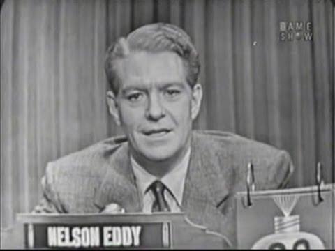 What's My Line? - Nelson Eddy; Barbara Kelly [panel] (Jun 7, 1953)