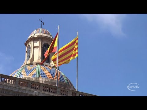 Brussels says an independent Catalonia would need to leave EU