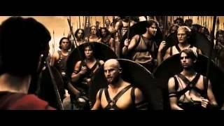 Момент из 300 спартанцев,мотивация.